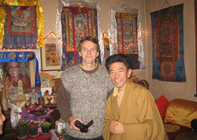 Albert LamaTashi casa del Tibet 2011